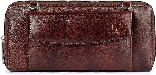 Enchant Genuine Leather Wallets For Women Ladies Purse Handbag Clutch Bags