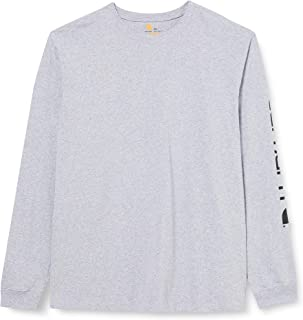 Carhartt Signature Logo Long-Sleeve T-Shirt Uomo