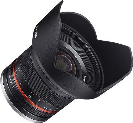 Samyang SY12M-FX-BK 12mm F2.0 Ultra Wide Angle Lens for Fujifilm X-Mount Cameras, Black