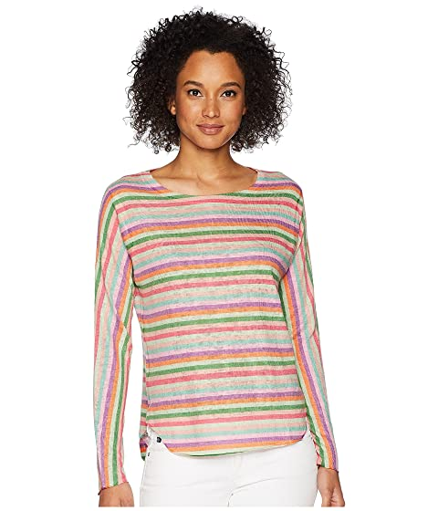 NALLY & MILLIE Pink Stripe Top, Multi