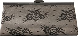 Sloan Sparkle Lace Framed Clutch