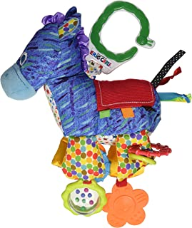 The World of Eric Carle, The Very Hungry Caterpillar Developmental Horse Rattle Clip for Babies