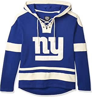 NFL Men`s OTS Grant Lace Up Pullover Hoodie
