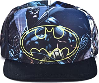 DC Comics The Joker Hahaha Batman Logo Sublimated Bill Snapback