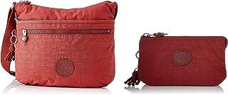 Kipling Damen Arto Crossbody Taschen, Einheitsgröße, Rot - Dusty Carmine - Größe: One Size Creativity S Pouches Cases, Dus...