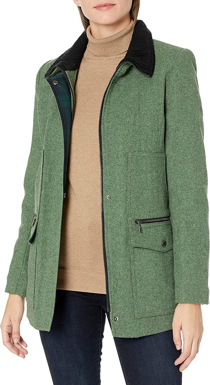 Pendleton Outerwear womens Timberline Exclusive Italian Blend Field Coat