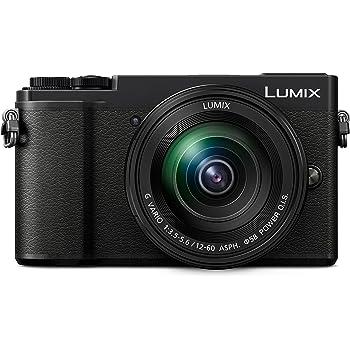 PANASONIC LUMIX GX9 4K Mirrorless ILC Camera Body with 12-60mm F3.5-5.6 Power O.I.S. Lens, DC-GX9MK (USA Black)