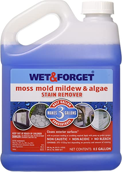 Wet And Forget 800003 Wet And Forget Moss Mold Mildew Algae Stain Remover