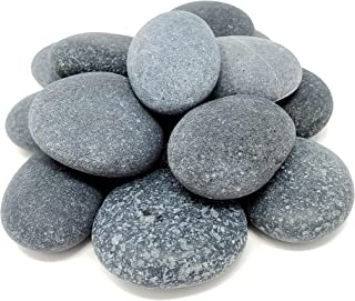 Capcouriers Painting Rocks - Small Rocks for Painting - Smooth River Rocks - Rocks are About 1.5 inches in Length - 14 Rocks