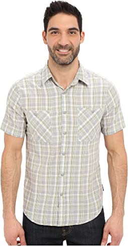 Biscayne Bay Plaid Short Sleeve Shirt