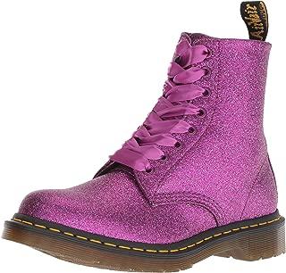 Best purple glitter combat boots Reviews