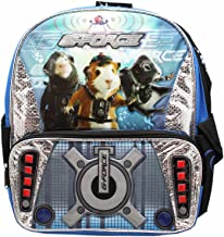 Disney's G-Force Spy Tactics Blue/Black Small Size Toddler Backpack (12in)