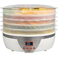 MasterChef Food Dehydrator w 5... MasterChef Food Dehydrator w 5 Trays and Digital Temperature Controls- Dehydrating Machine...