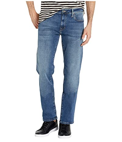 Mavi Jeans Zach Straight Leg in Mid Brushed Cashmere (Mid Brushed Cashmere) Men