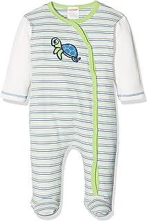 Schnizler Unisex Baby Schlafoverall Interlock Schildkröte Schlafstrampler