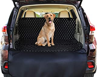 Pawple Pets SUV Cargo Liner Cover for SUVs and Cars, Waterproof Material, Non Slip Backing, Extra Bumper Flap Protector, Large Size - Universal Fit