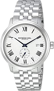 Men's Maestro Swiss-Automatic Watch with Stainless-Steel Strap, Silver (Model: 2238-ST-00659)