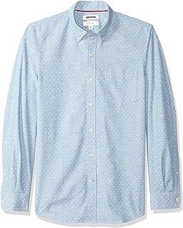Amazon Brand - Goodthreads Men's Slim-Fit Long-Sleeve Chambray Shirt