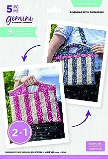 Crafter's Companion Gemini Kit de matrices de découpe réversible, couleur or rose, taille unique