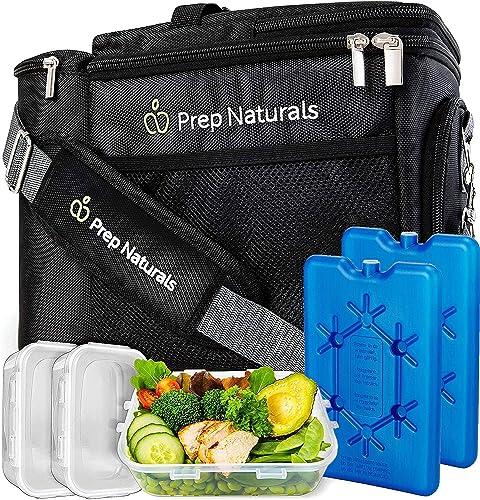 PrepNaturals Insulated Lunch Box For Men
