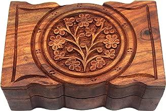 Govinda Rosewood Box Tree of Life 4 x 6 Inch