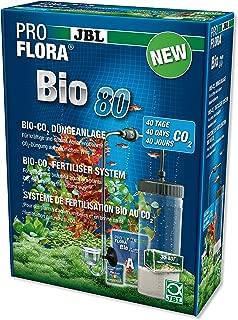 JBL - ProFlora® Bio 80 2 - Sistema de fertilización con Bio-Co₂ - Uso múltiple para acuariofilia