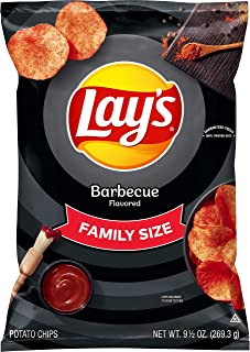 Lay's Potato Chips, Barbecue, 9.5 Ounce