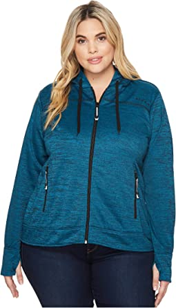 Roper - Plus Size 1466 Peacock Blue/Black Jacket