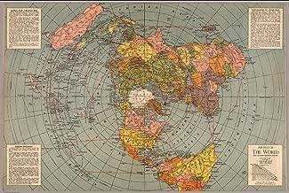 Best gleason map flat earth Reviews