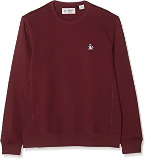 Original Penguin Men's Sticker Pete Crew Neck Sweatshirt