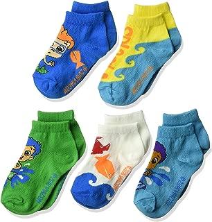 Boys Bubble Guppies Character 5 Pack Socks