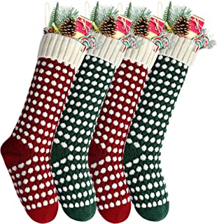 christmas stocking fence