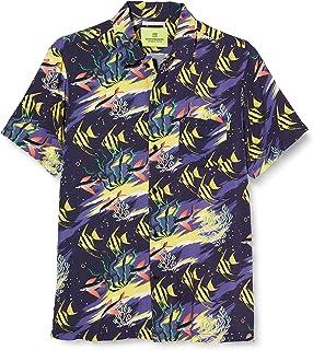 Scotch & Soda All-Over Printed Hawaiian Shirt Blusa para Niños