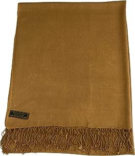 Solid Color Design Shawl Scarf Wrap Stole Pashmina (80+ Colors) CJ Apparel NEW