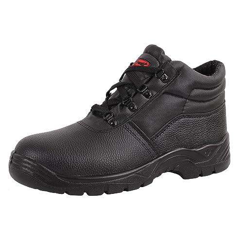 88ccd9b40e6 Women's Steel Toe Boots: Amazon.co.uk