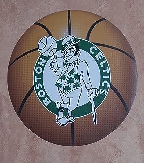 Boston Celtics FATHEAD Team Basketball Logo Official NBA Vinyl Wall Graphic 11