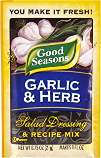 Best good seasons garlic and herb dressing mix recipe Reviews