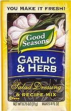 Good Seasons Garlic & Herb Salad Dressing & Recipe Mix (0.75 oz Packets, Pack of 24)