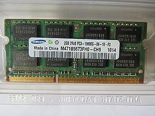 2GB DDR3 SODIMM PC-10600 1333MHz 256M X 64 Samsung Chip CL9 M471B5673FH0CH9