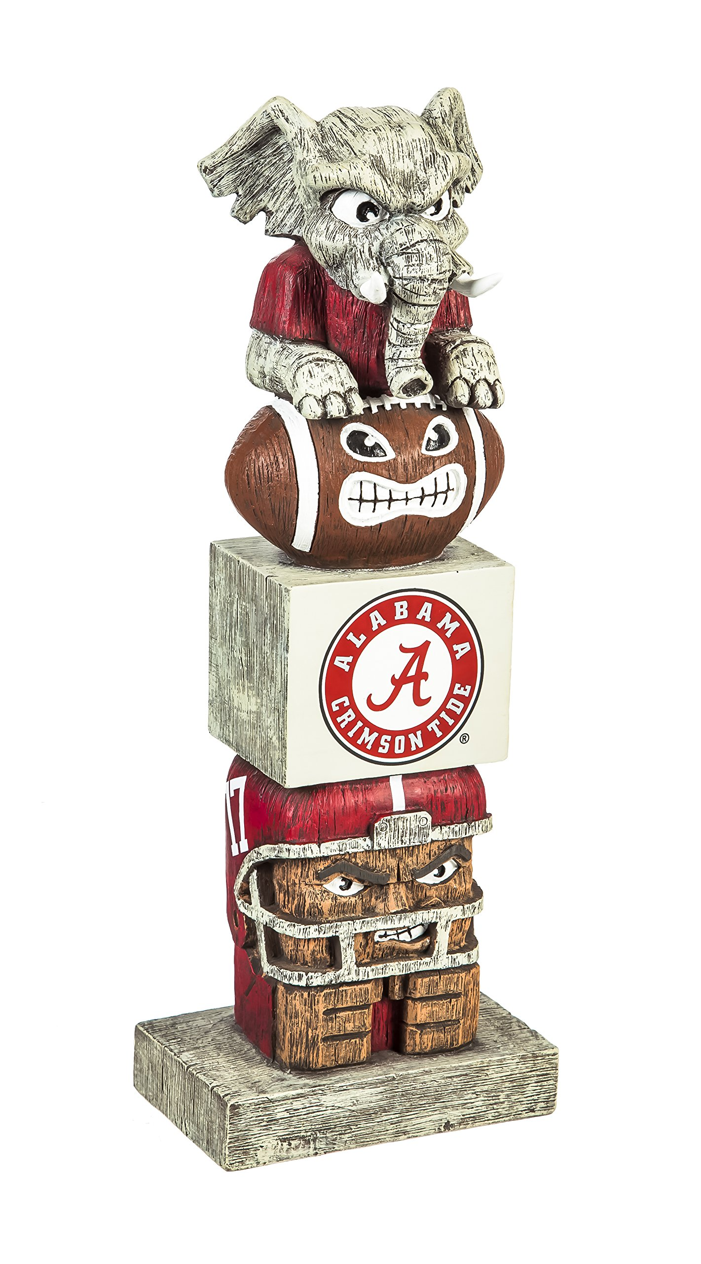 Team Sports America Alabama Crimson Tide Tiki Mascot Ornament