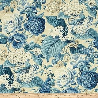 WAVERLY Sun N Shade Garden Party Outdoor Fabric, Porcelain