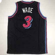 Unsigned Dwyane Wade Miami Black City Vice Custom Stitched Basketball Jersey Size Men's XL New No Brands/Logos