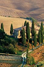 Field with Cypress Trees in Tuscany Italy Journal: 150 page lined notebook/diary