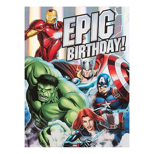 Hallmark Avengers Birthday Card Epic