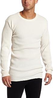 Key Apparel Men's Big & Tall Thermal Long Underwear Shirt - Off-White