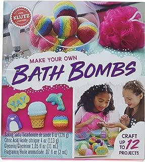 "Klutz Klutz Make Your Own Bath Bombs, KLZ815880, Multicolor, 8"" Length x 1.19"" Width x 9"" Height"