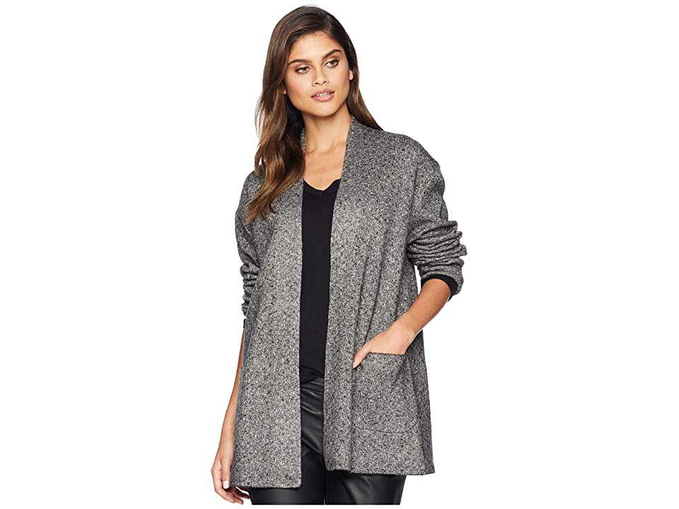 Michael Stars Shawl Collar Jacket with Pockets (Tweed) Women