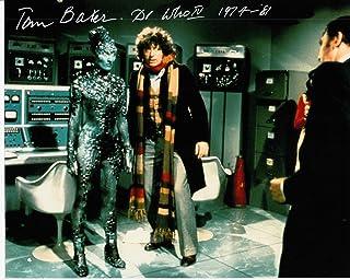 Firma de sueños autógrafos Tom Baker, foto firmada en 10 x 8 color, Doctor Who – Monach of the Glen – Distribuidor 100% en persona – Registrado #242