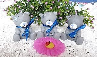 Gray teddy bear soap - wonderful gift for a child