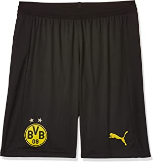 Puma BVB Shorts Replica with innerslip B Black Pants For Unisex, Size